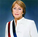 Chile's president arrives in Cuba for official visit