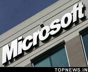 Microsoft sales drop for first time since going public