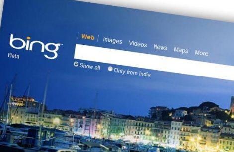 Microsoft's Bing