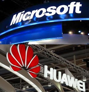 Microsoft teams up with Huawei of China to sell low-cost Windows handset in Africa