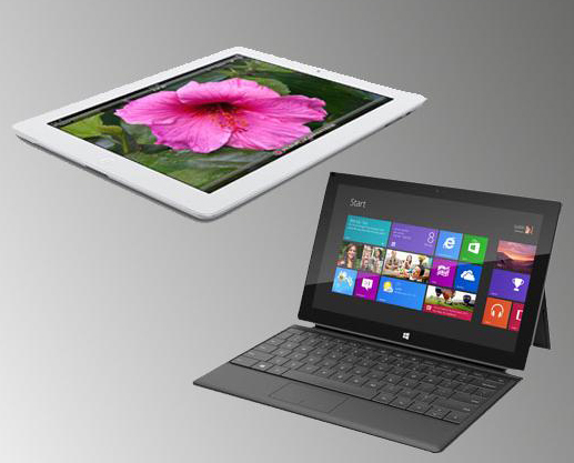 IHS iSuppli: Microsoft's Surface more lucrative to produce than Apple's iPad