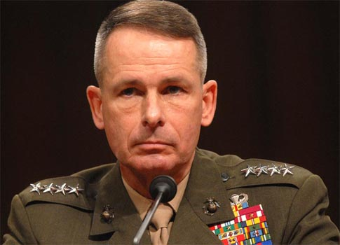 ... serious concern over reports that the Taliban is inching closer towards Islamabad, the Chairman of the US Joint Chiefs of Staff, Admiral Mike Mullen, ... - Mike_Mullen