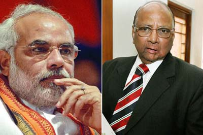 Modi, Pawar deride each other in Maharashtra
