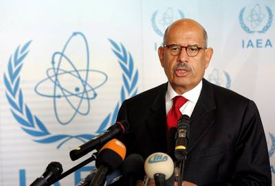 Iran issue unsolved at ElBaradei's last IAEA board meeting