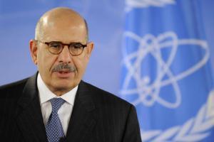 "ElBaradei calls for IAEA successor to be ""consensus candidate"