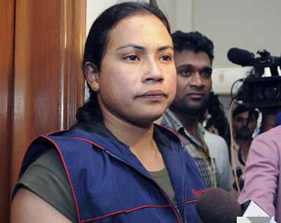 Lifter Monika Devi Claims No Wrongdoing