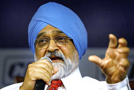 Planning Commission deputy chairman Montek Singh Ahluwalia