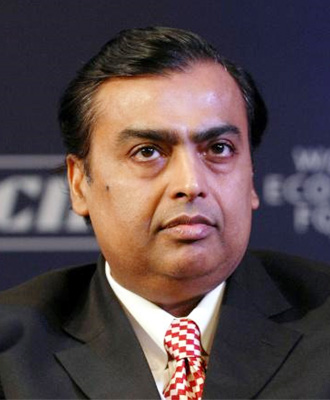 Washington, March 4 : Fifty-five Indians, led by Reliance India chairman Mukesh Ambani, figure in the Forbes annual list of a record 1,426 billionaires, ... - Mukesh-Ambani_15