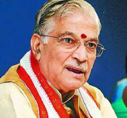Murli Manohar Joshi calls for rectifying gaps in climate change