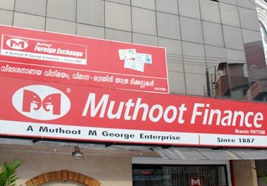 Muthoot Finance shares fell 20% on Friday