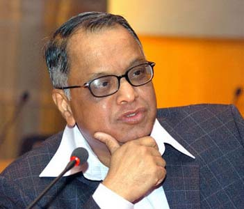 Murthy to resign as Infosys chief in 2011
