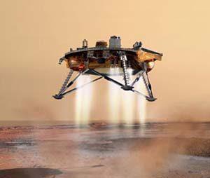 NASA's Phoenix Mars Lander explores site by trenching