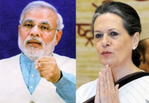 Modi asks PM to provide details on Sonia's international trips