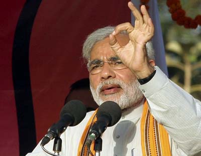 Sonia Gandhi needs to do her homework before entering Gujarat: Modi