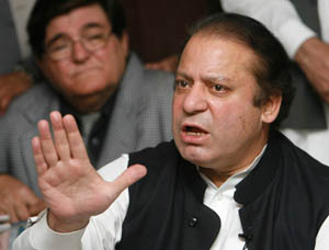 Nawaz says PML-N will help Gilani get PM's powers
