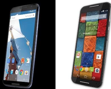 Nexus 6 exus 9