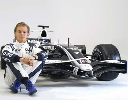 Rosberg tops final British GP practice for Williams