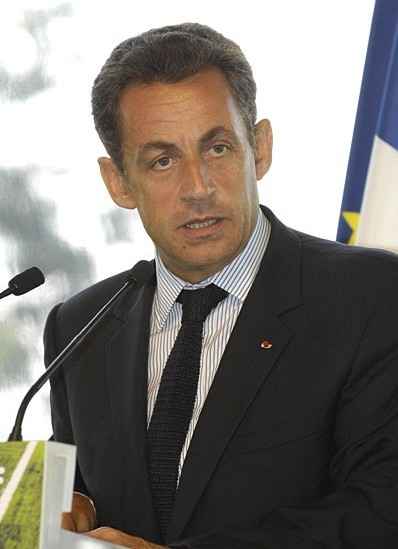... his French counterpart Nicolas SARKOZY, officials confirmed Sunday