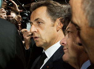 Sarkozy sacks two officials, accused of ruling France like a ''monarch''
