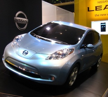 Nissan Leaf - the electric car to cost £10,000 more