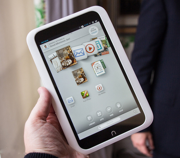 B&N starts shipping $199 Nook HD tablet; reduces cost of last year Nook tablet models