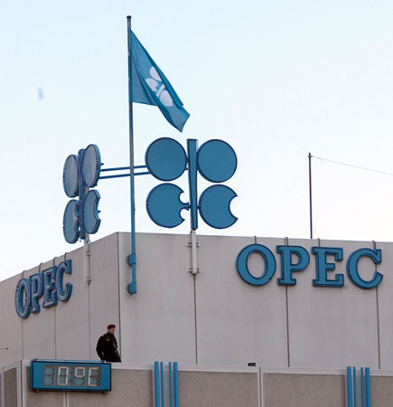 Slight gain in OPEC oil price towards end of the week