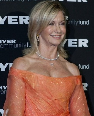 At 62, Olivia Newton-John can still squeeze into hot Spandex trousers