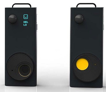 Autographer click-free camera takes pictures without user intervention