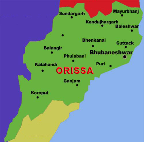 Maoists loot construction material in Orissa