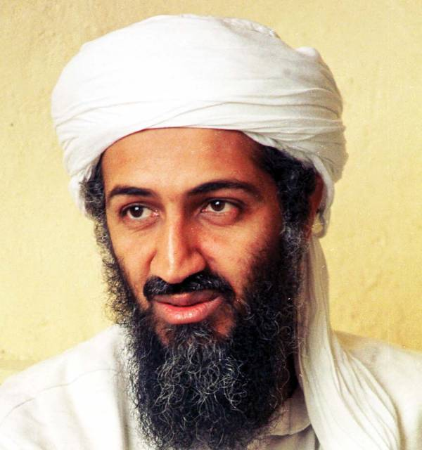 Osama in Laden. usama bin laden