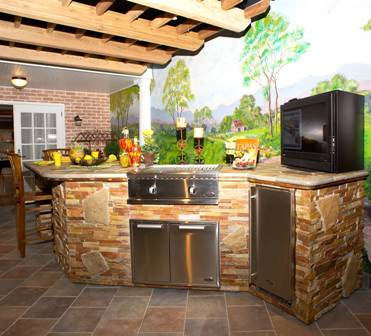 Outdoor Kitchens Make Cooking Al Fresco A Thing Of