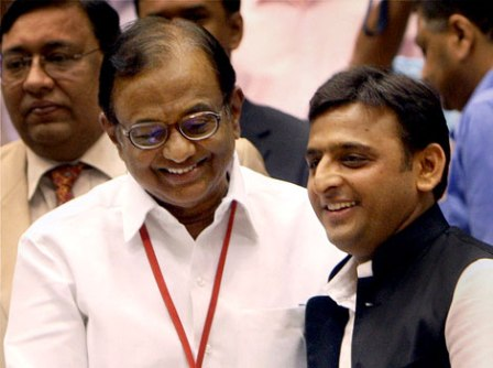 Chidambaram reaches out to Akhilesh Yadav with praise