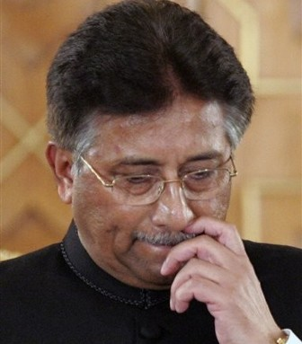 Musharraf booked for illegally detaining lawyers during emergency