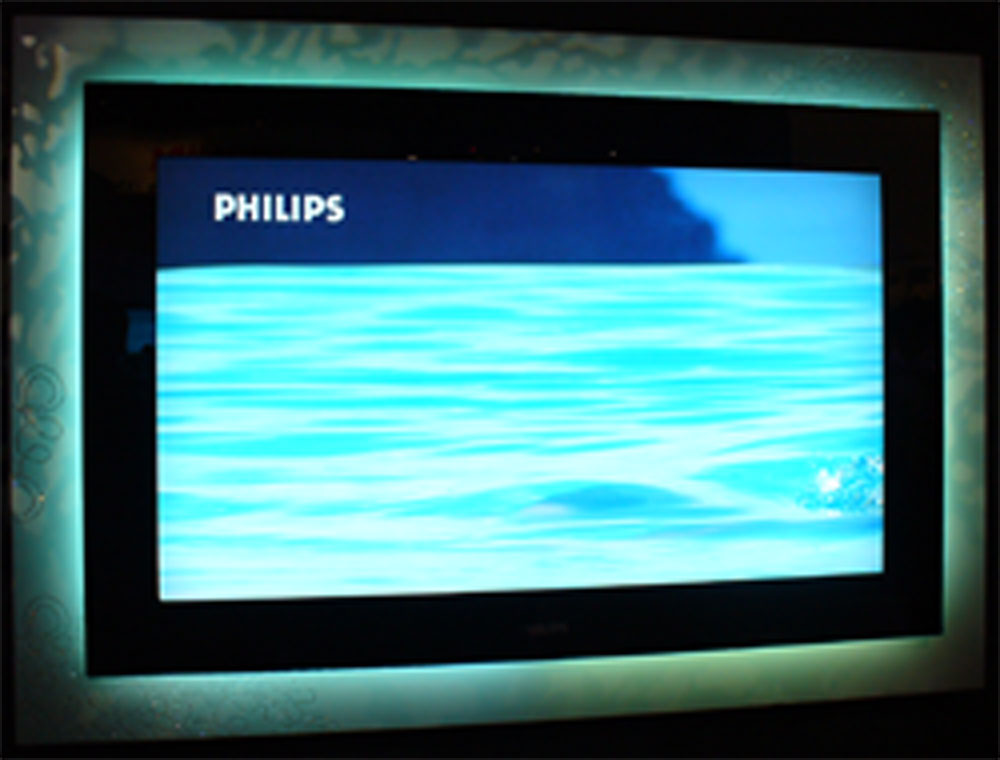 philips launches its new line of ambilight lcd high. Black Bedroom Furniture Sets. Home Design Ideas