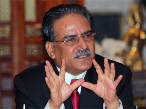 Prachanda meets envoys, foreign donors
