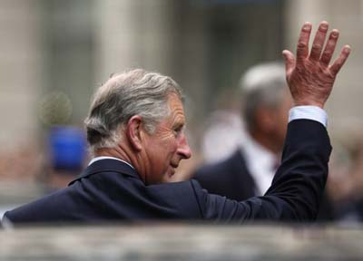 Prince Charles mixes sport with culture during Berlin visit