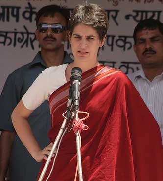 Priyanka Gandhi slams Varun Gandhi over surname use