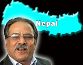Prachanda says ''weak parties'' trying to form new govt in Nepal