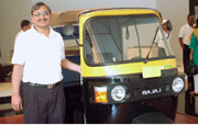 RC Maheshwari, CEO three-wheelers, Bajaj Auto
