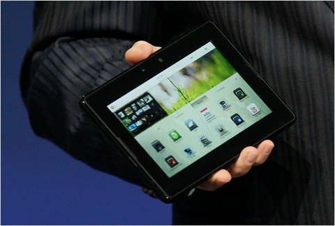 RIM rolls out update for PlayBook's OS