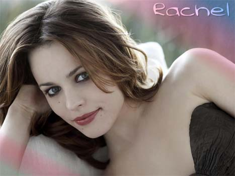 Eco-friendly Rachel McAdams urges women to buy bamboo lingerie!