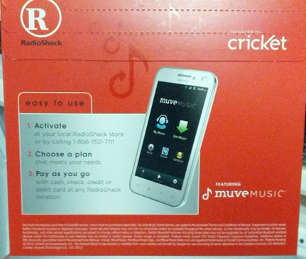 RadioShack and Cricket to sell no-contract phones made by Huawei