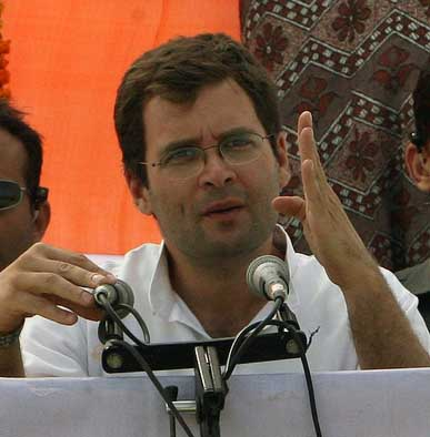 Fight against underdevelopment more important: Rahul Gandhi