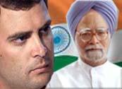 Rahul Gandhi, Manmohan Singh