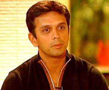 Rahul Dravid back after two-year gap