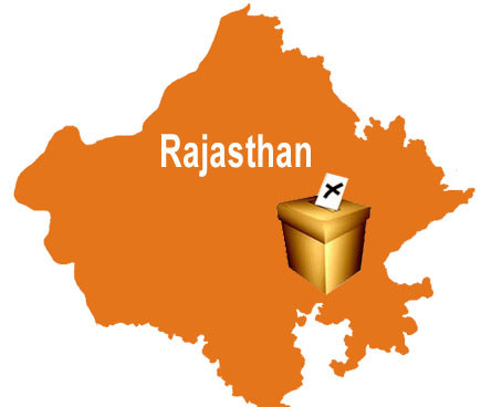 Polling begins in Rajasthan