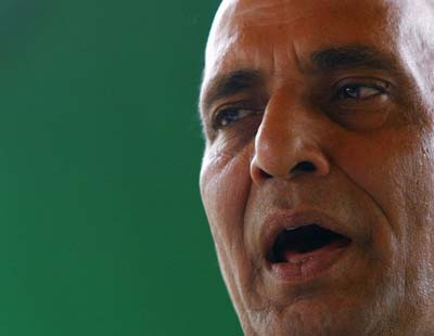 Rajnath Singh accuses Sonia, Manmohan of making personal attacks on Advani