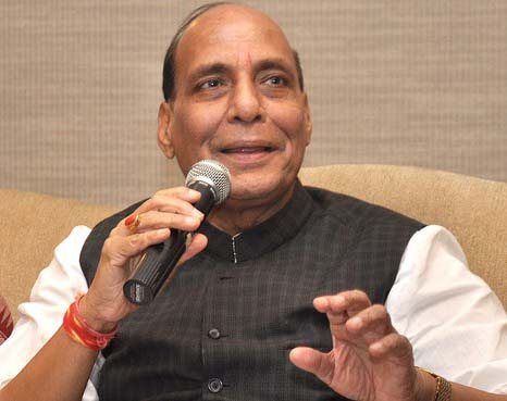 BJP will win a clear majority on its own strength: Rajnath Singh