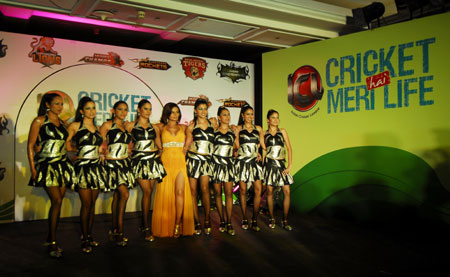 ICL Adds Spice By Selcting Rakhi Sawant As The 'Queen Cheerleader'