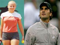 Federer, Dokic draw a crowd on the air